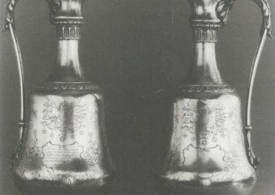 Geschenk von Sultan Abdülhamid an die Teutonia 1901