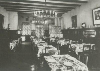Restaurant im Teutonia Gebaeude