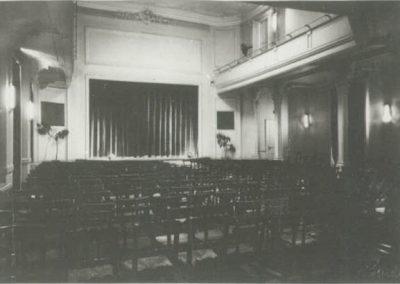 Theatersaal und Bühne