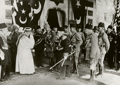 Wilhelm II. in Konstaninopel 1917 / Foto - Wilhelm II / Constaninople / WWI / 1917 / Photo -